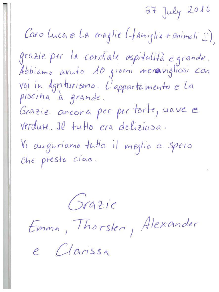 Recensione Appartamento Sasso Simone numero 3